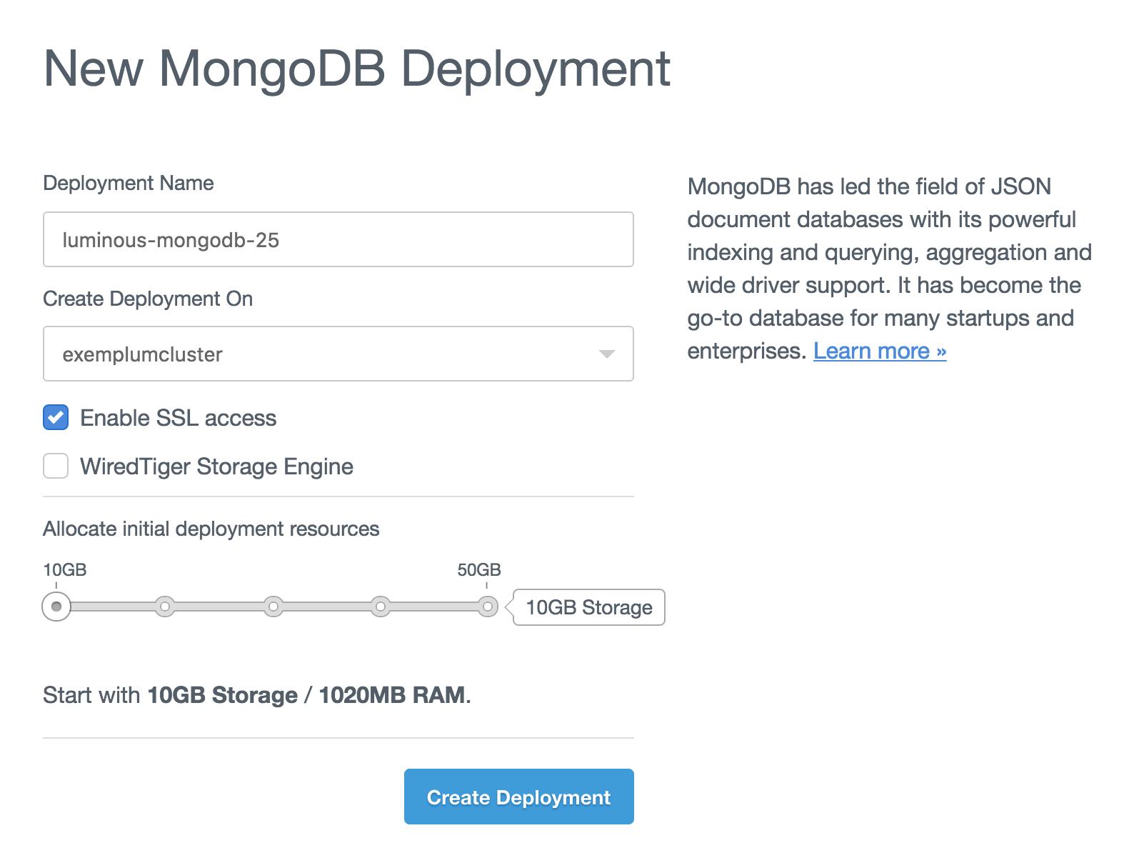 Database Deploy