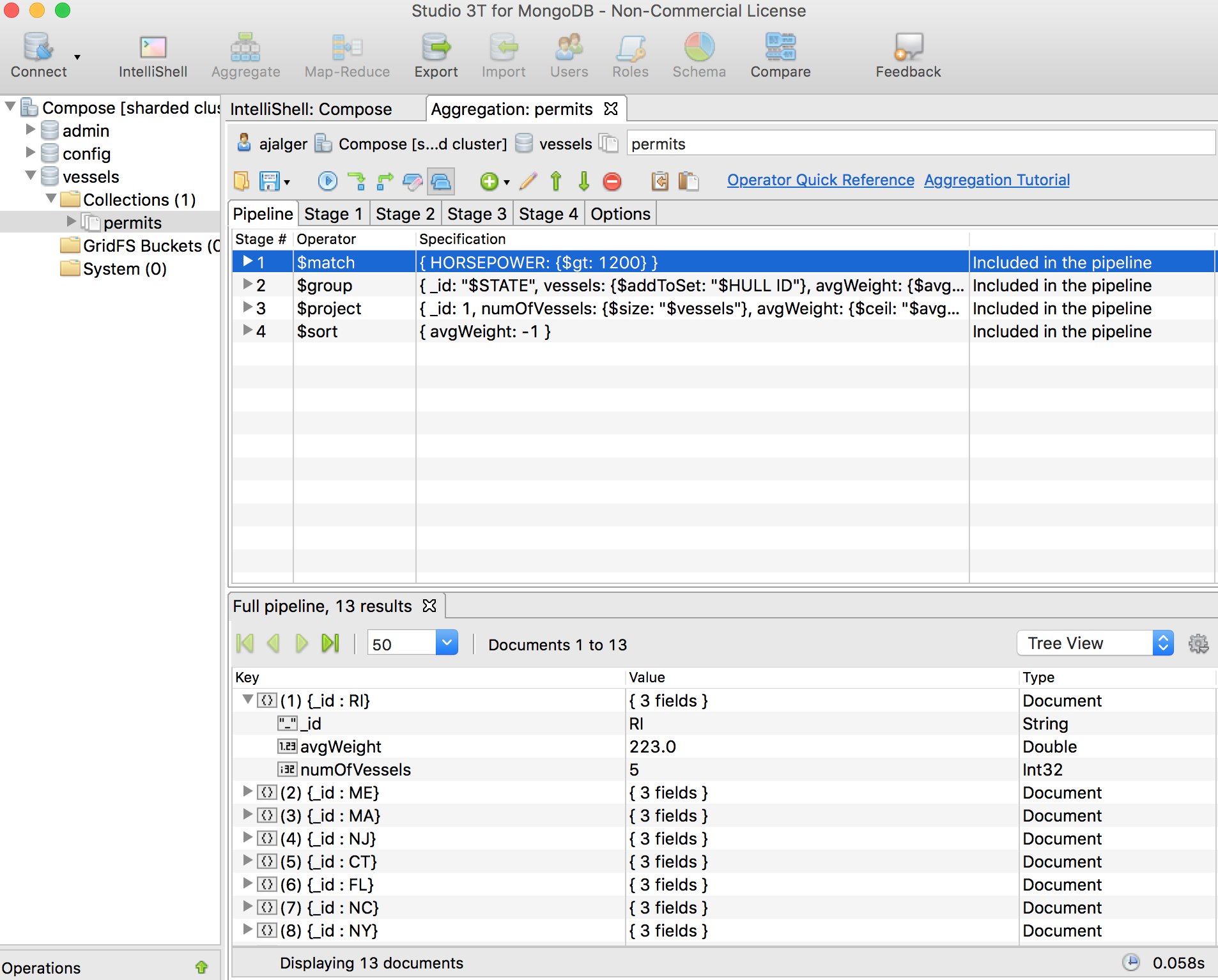 Taking a Look at Robomongo and Studio 3T with Compose for