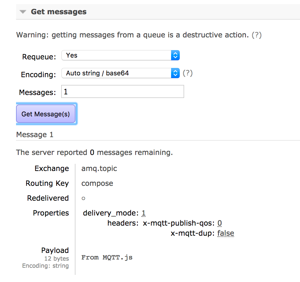 MQTT and STOMP for Compose RabbitMQ - Compose Articles