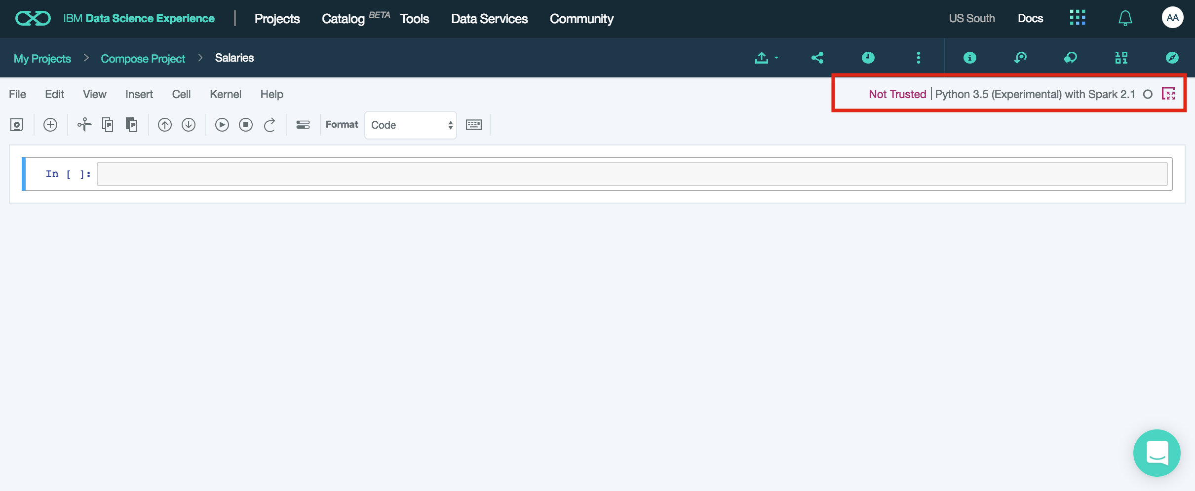 Securing Notebooks on IBM's Data Science Experience