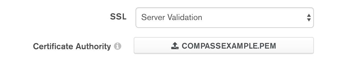 SSL Certificate Setting