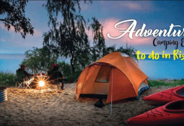 Adventure Camping Experience In Rishikesh