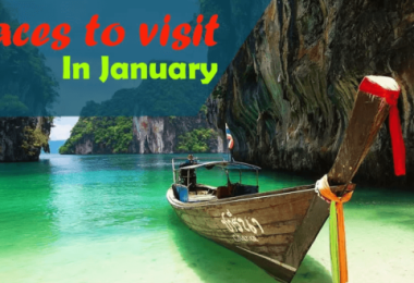 Places To Visit In January In India