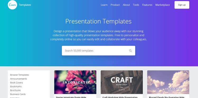 Canva Tool For Presentation