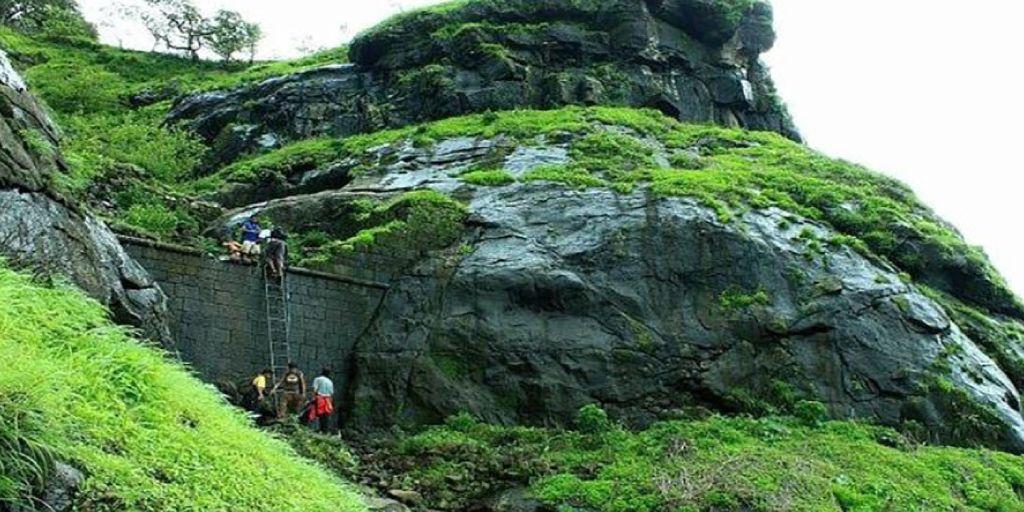 Peb Vikatghad Trek near Pune