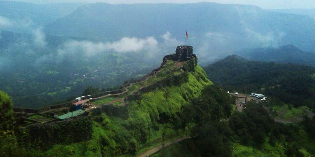 Rajgad Fort trek near Pune