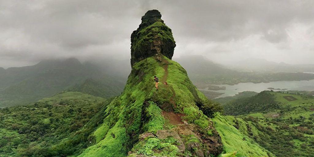 Irshalgad trek near Pune