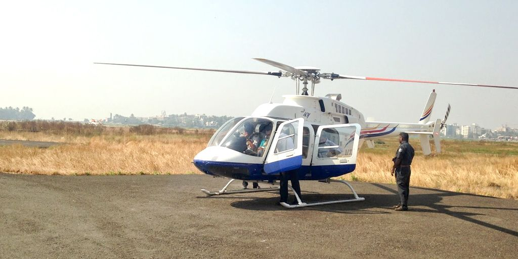 one day outing in mumbai to hjelicopter joy ride