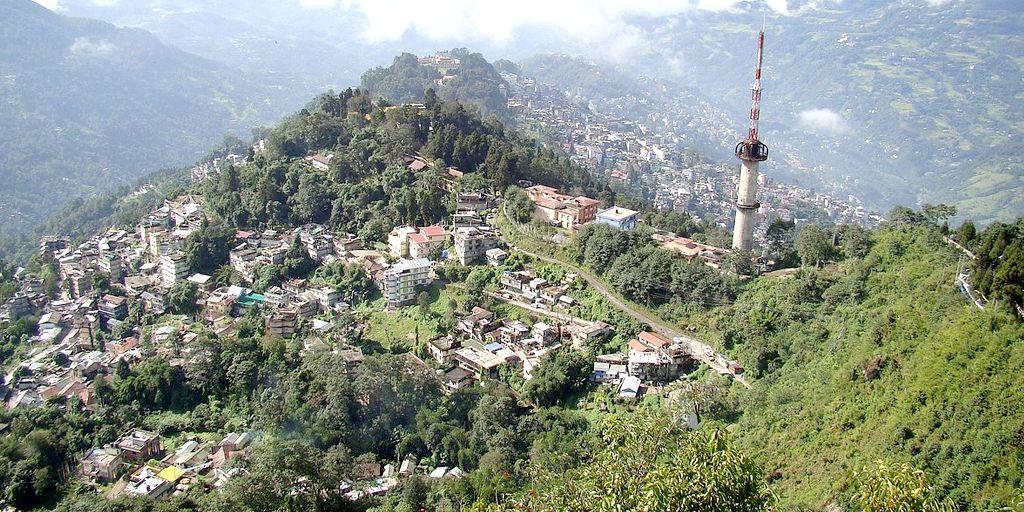 gangtok hill station near kolkata