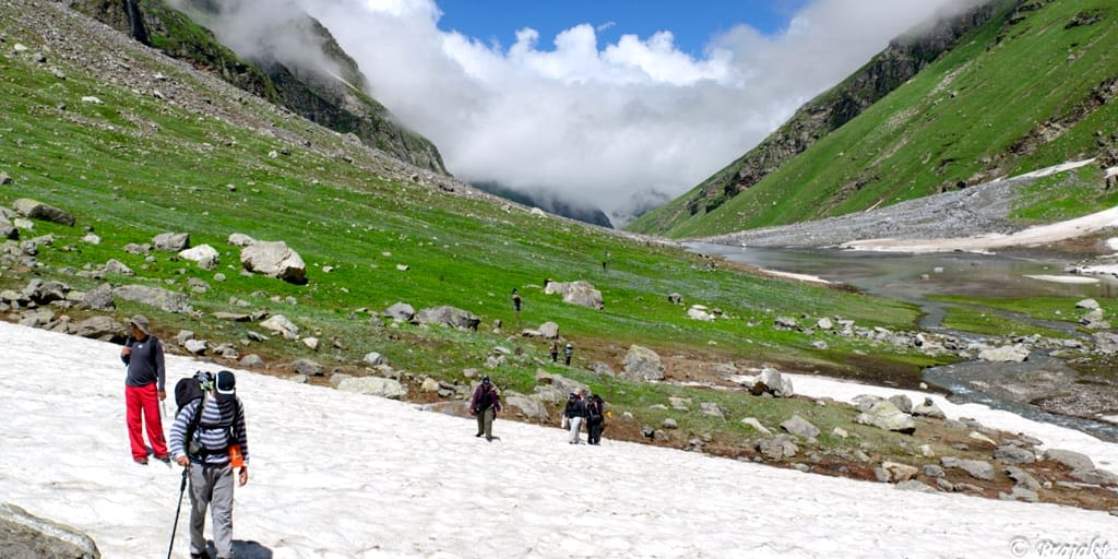 Hampta pass- Trekking near Delhi