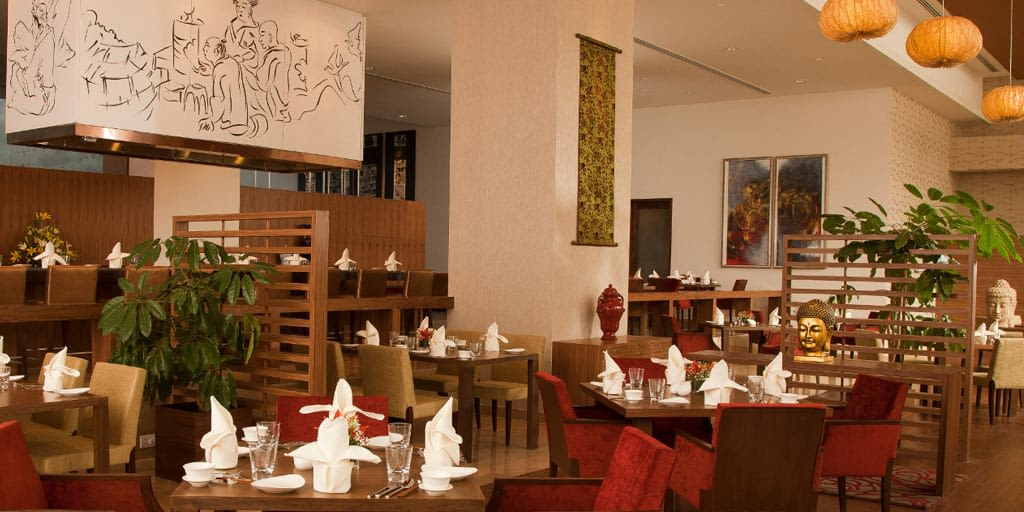 holy basil radisson blu romantic restaurants in hyderabad