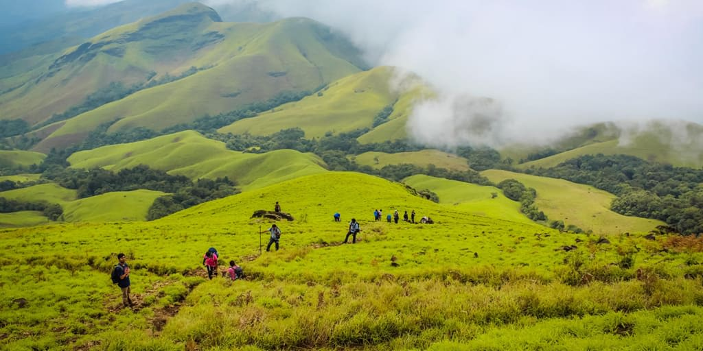 Trekking Places In Bangalore Kudremukh Trek