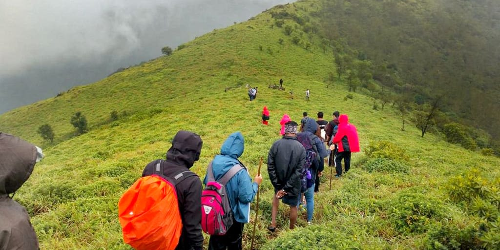 Image result for trekking in coorg