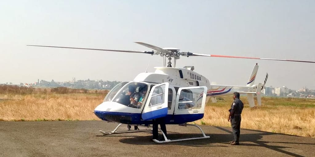 Helicopter Joy Ride In Pune