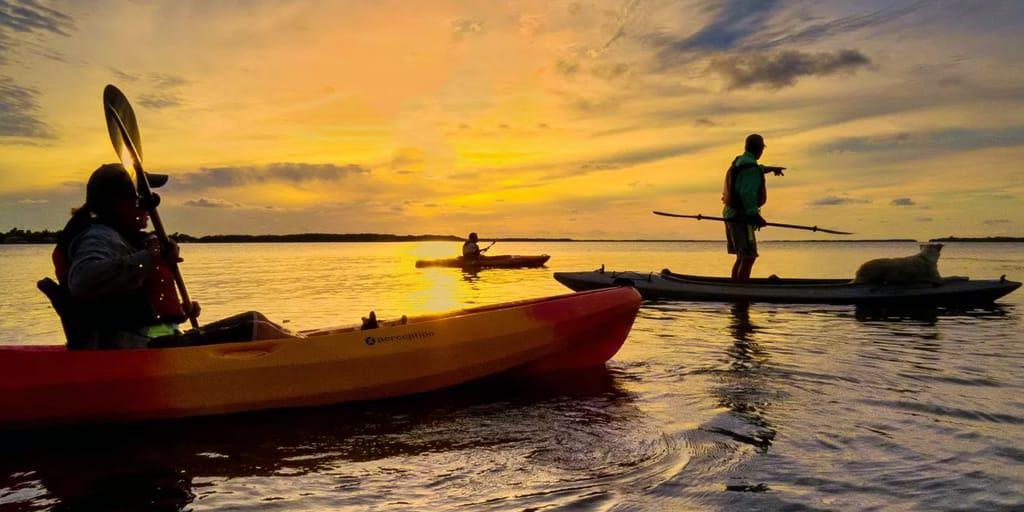 goa nightlife kayaking