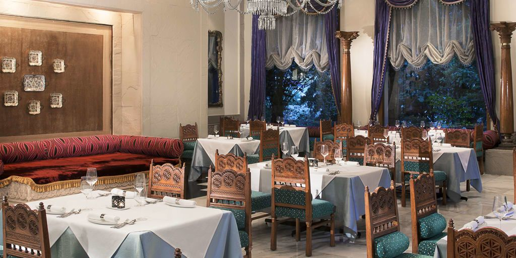 Dine In Nizam Style Firdaus Hyderabad