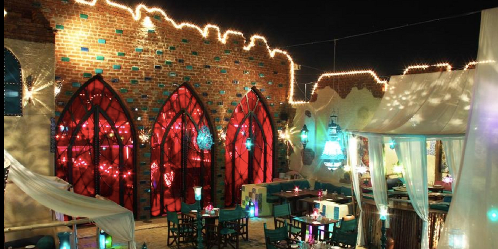 Ruh the arabian nights theme restaurants in Bangalore