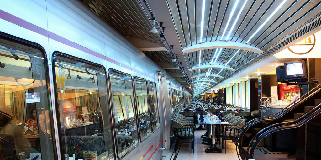 Silver metro theme restaurants in Bangalore