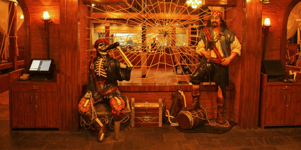 Black Pearl pirate themed restaurants in Bangalore