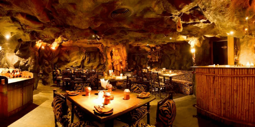 Gufa the cave themed restaurants in Bangalore
