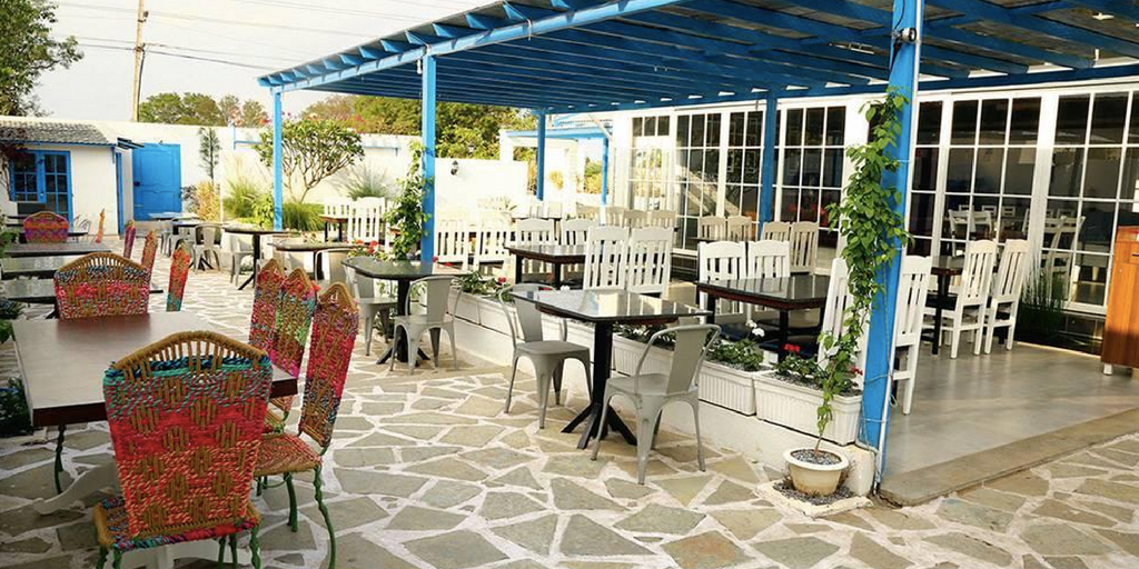 Rural Blues santorini themed restaurants in Bangalore