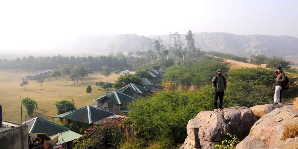 Camp Wild Dhauj near Delhi