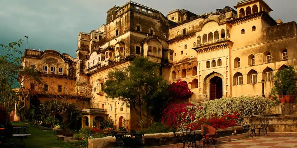 Neemrana Fort Palace Near Delhi