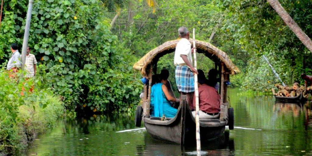 Village Backwater Tour in Kochi