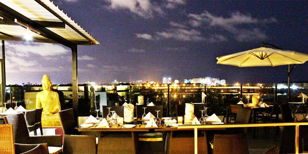romantic restaurants in Chennai - azzuri bay
