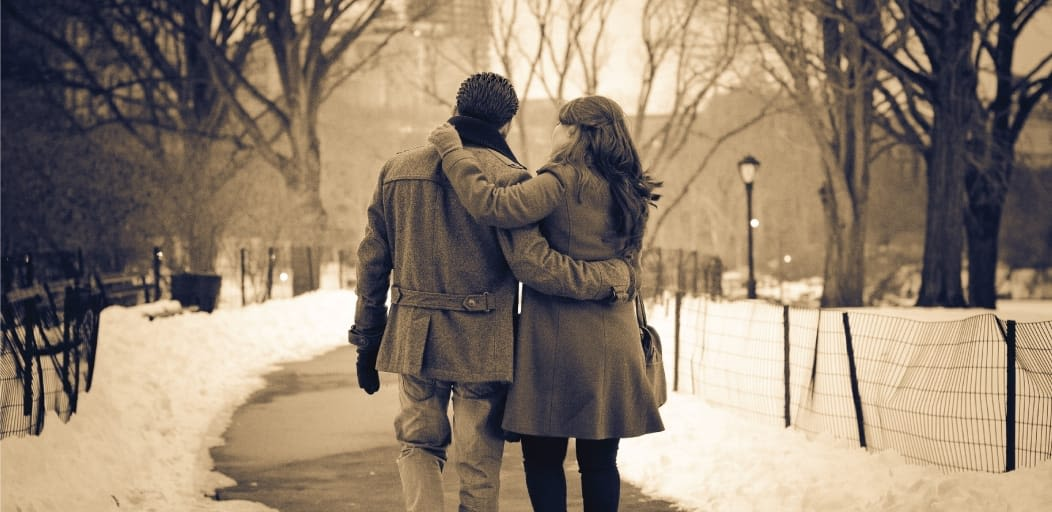 how to surprise your boyfriend on Valentine's Day - walk down memory lane