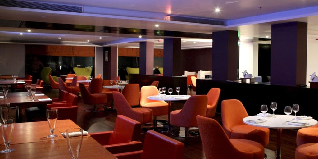 romantic places in Pune - poolside crown plaza