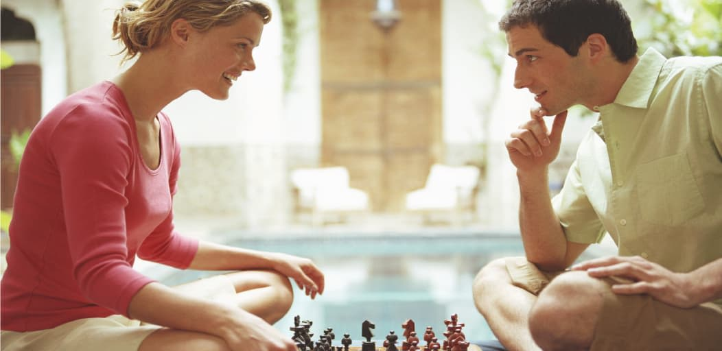 Date ideas for Valentine's Day - board games