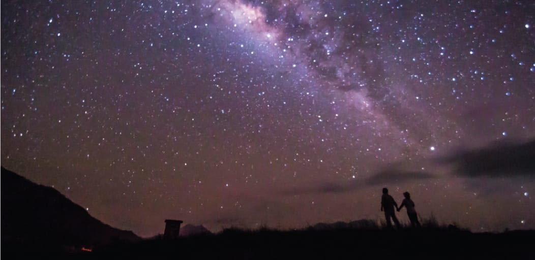 Date ideas for Valentine's Day - starry nights