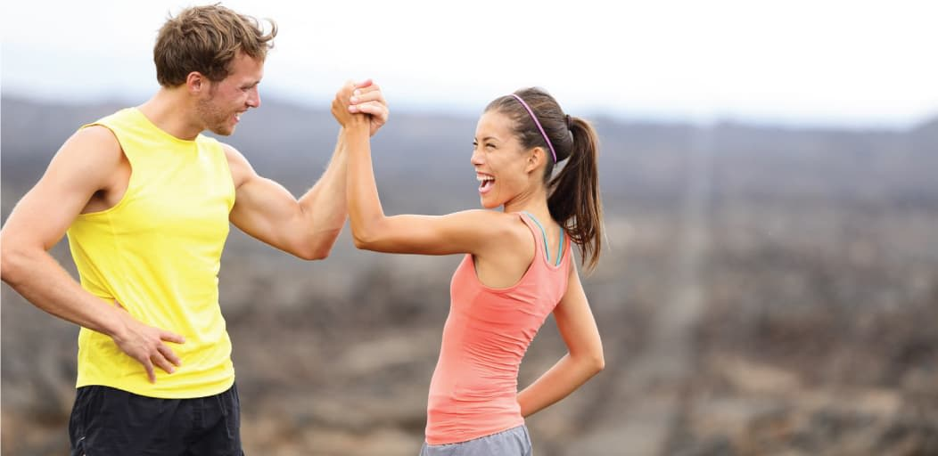 Date ideas for Valentine's Day - Stay fit