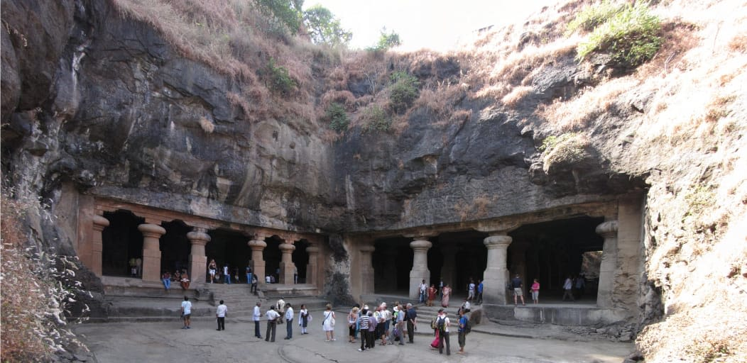 one day picnic spots near Mumbai - Elephanta caves