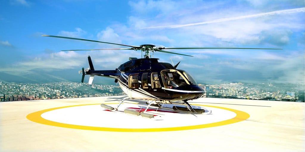 Adventure places in Mumbai - Chopper ride