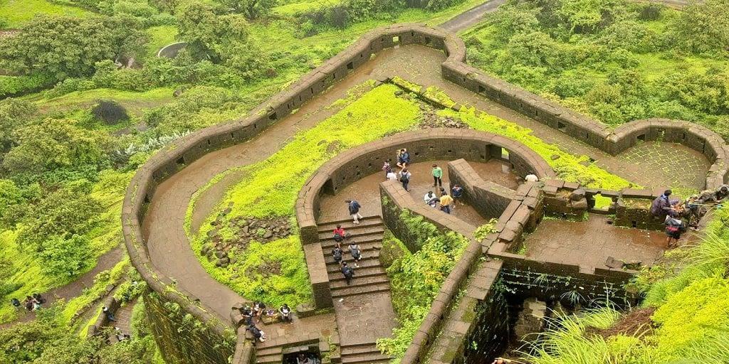 Adventure places in Mumbai - Lohagad Trek