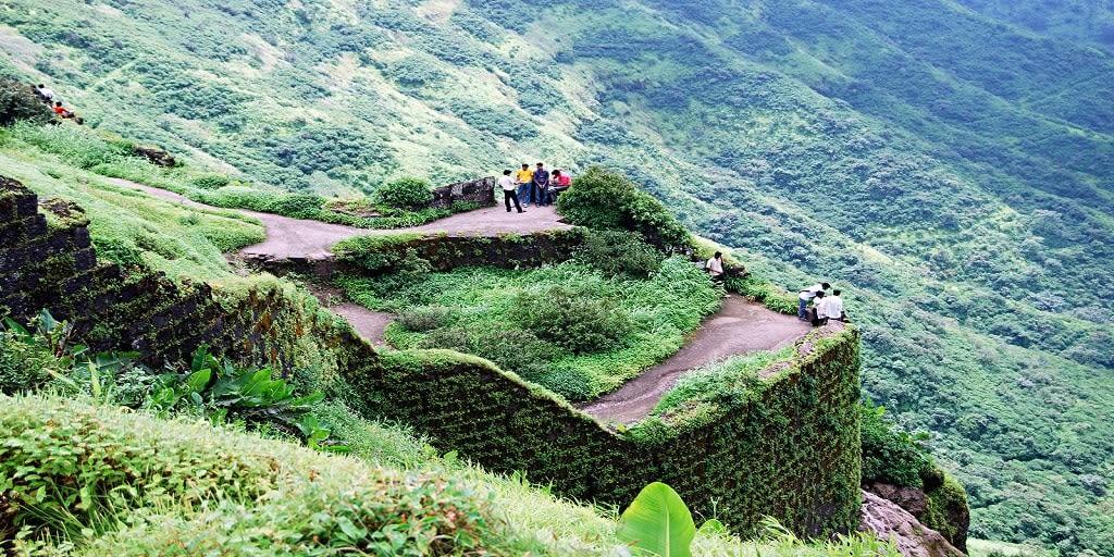 Adventure places in Mumbai - Sinhagad fort trek