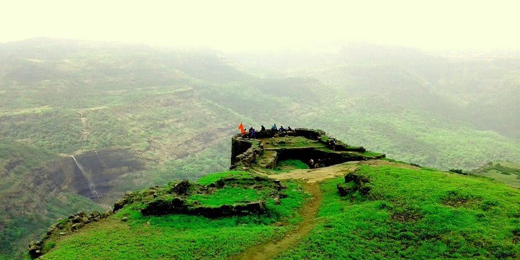 Adventure places in Mumbai - Rajmachi Fort trek