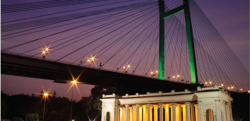 romantic places in Kolkata - prinsep ghat
