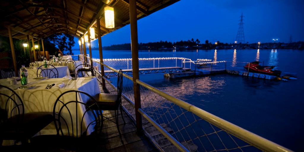 nightlife in Goa - fisherman's wharf