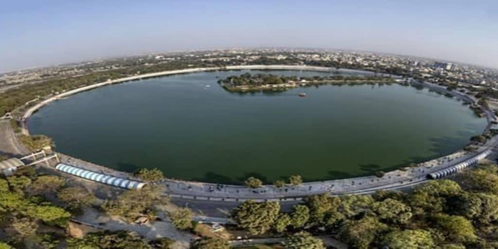 Places to visit near Ahmedabad within 50 Kms- knakariya lake
