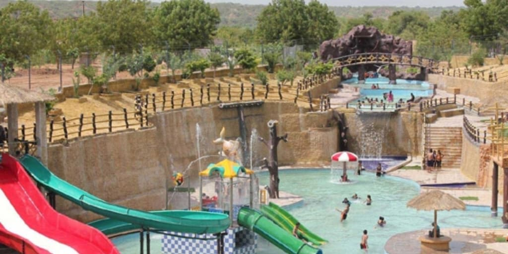 Places to visit near Ahmedabad within 50 Kms- tirupati rushivan thrill nation
