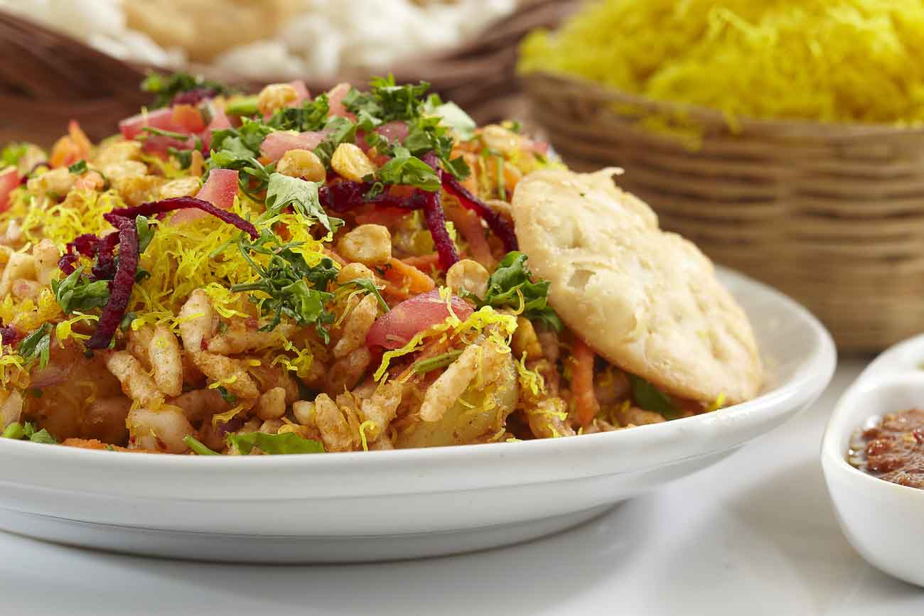 street foods in Goa-Bhel Puri