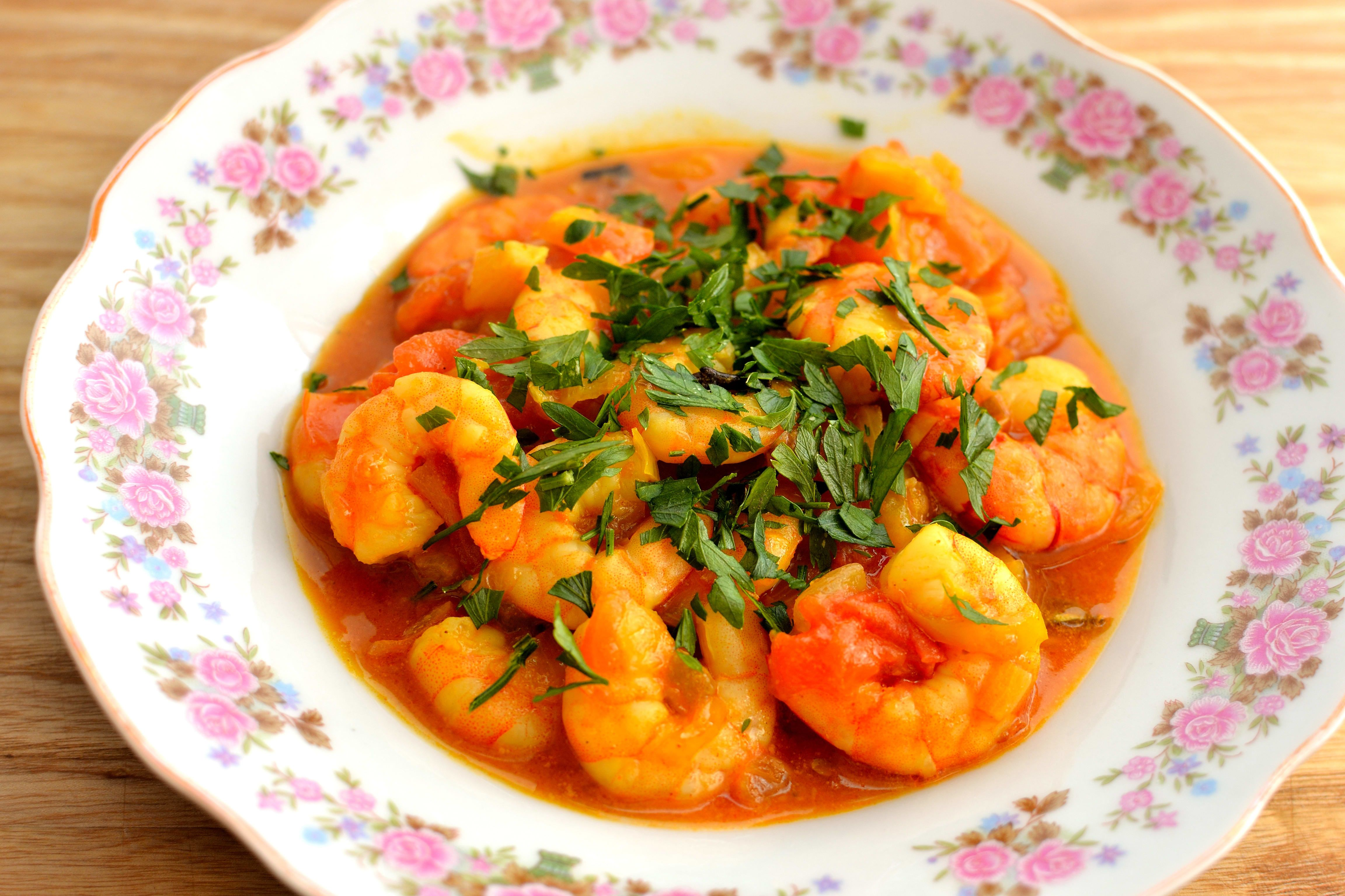 street foods in Goa-Prawn curry