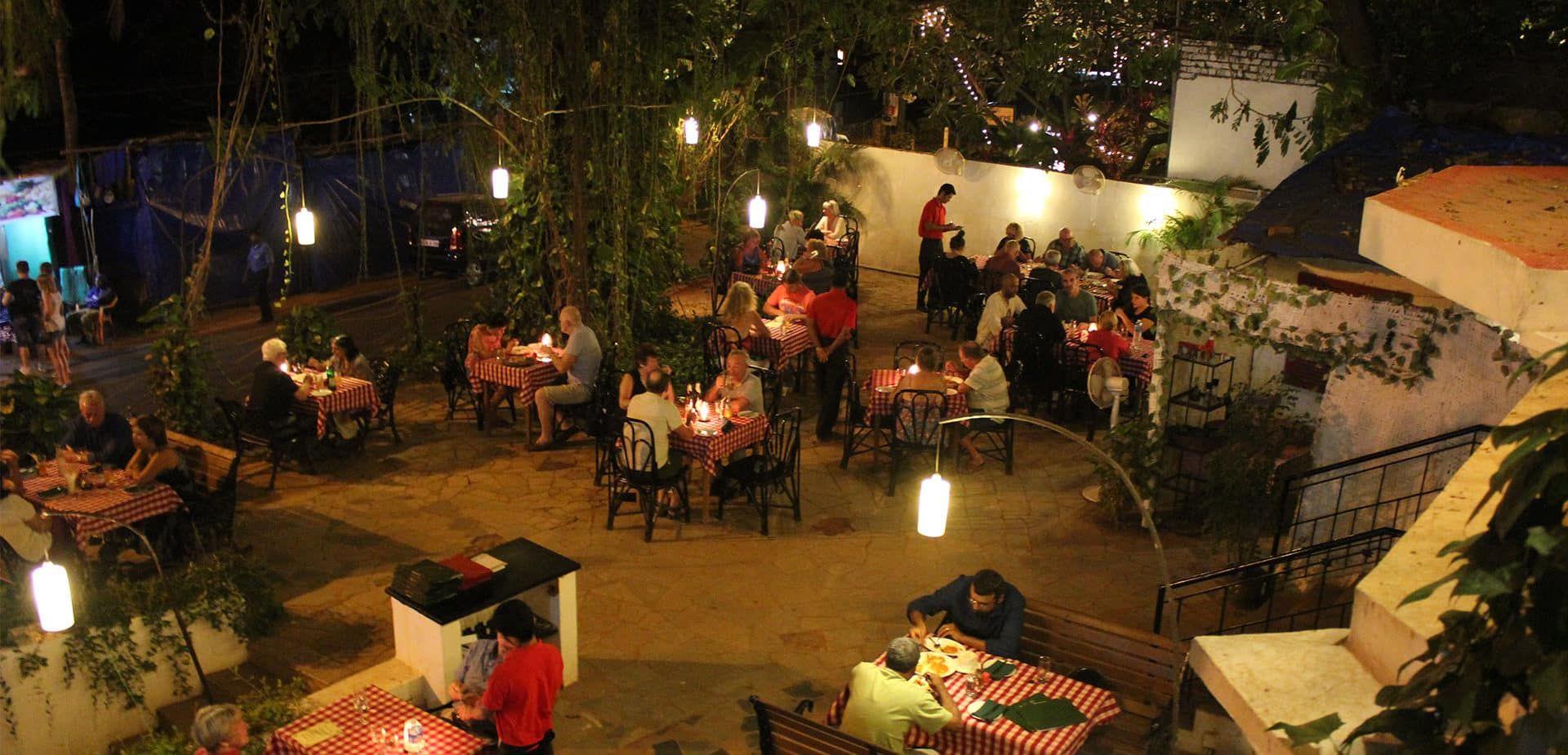 street foods in Goa- tuscany's garden