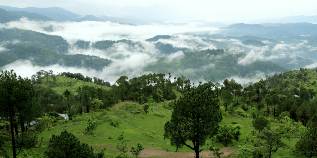 Places to Visit near Delhi on Weekend-Lansdowne