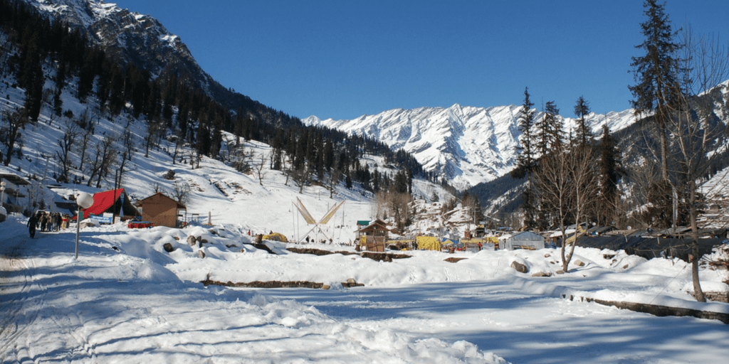 Places to Visit near Delhi on Weekend-shimla