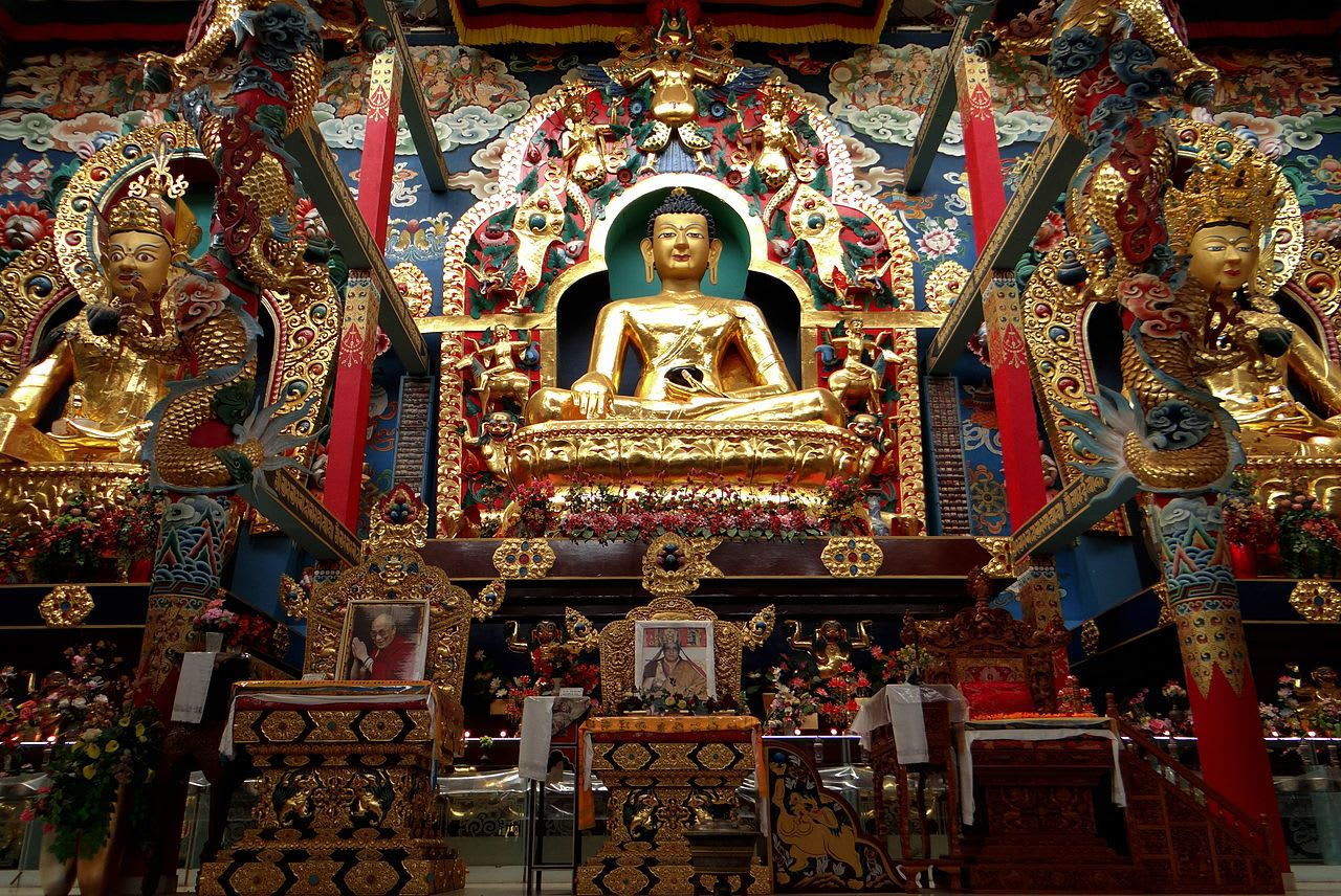 Places to visit in Coorg in one day-Tibetan Monastery