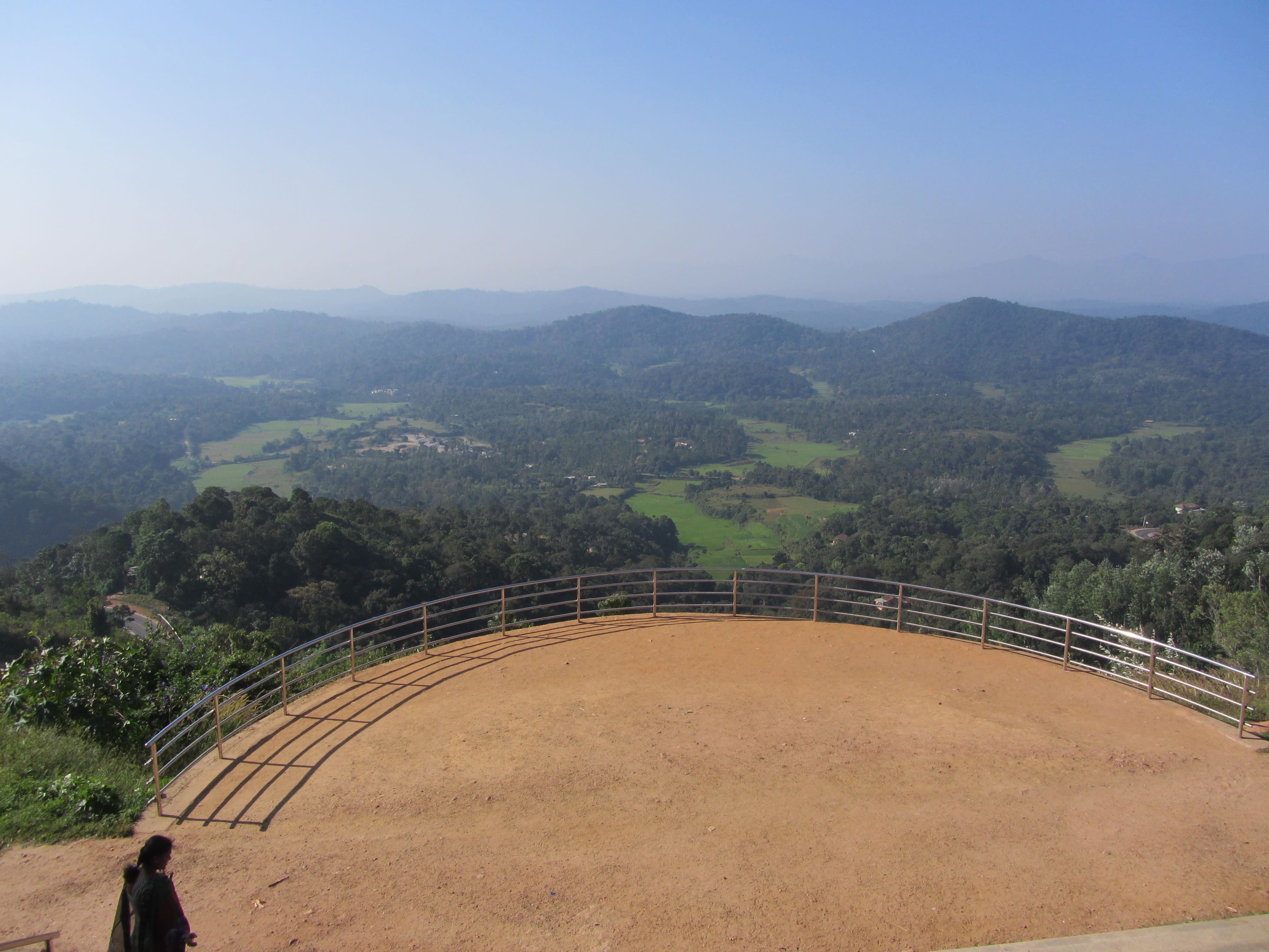 Places to visit in Coorg in one day-Raja Seat